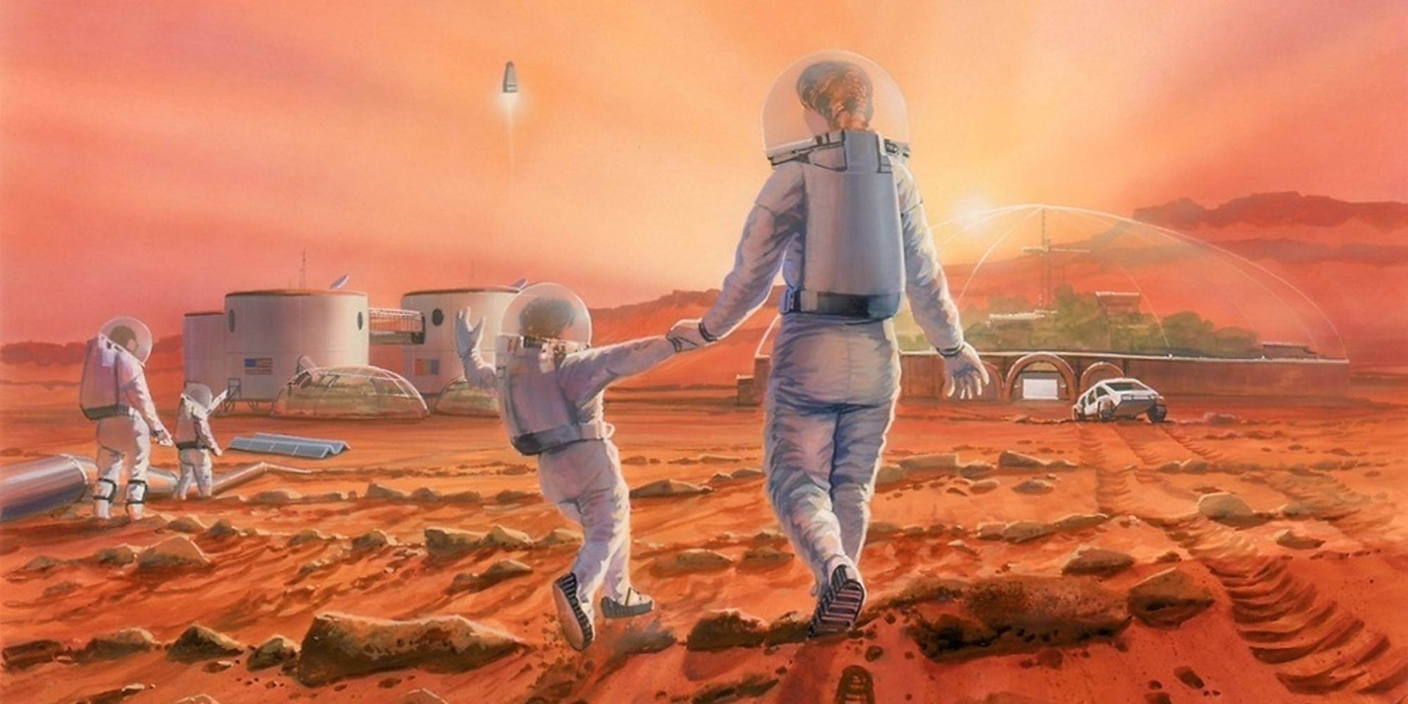 """Резултат с изображение за """"Едномилионен град на Марс"""""""