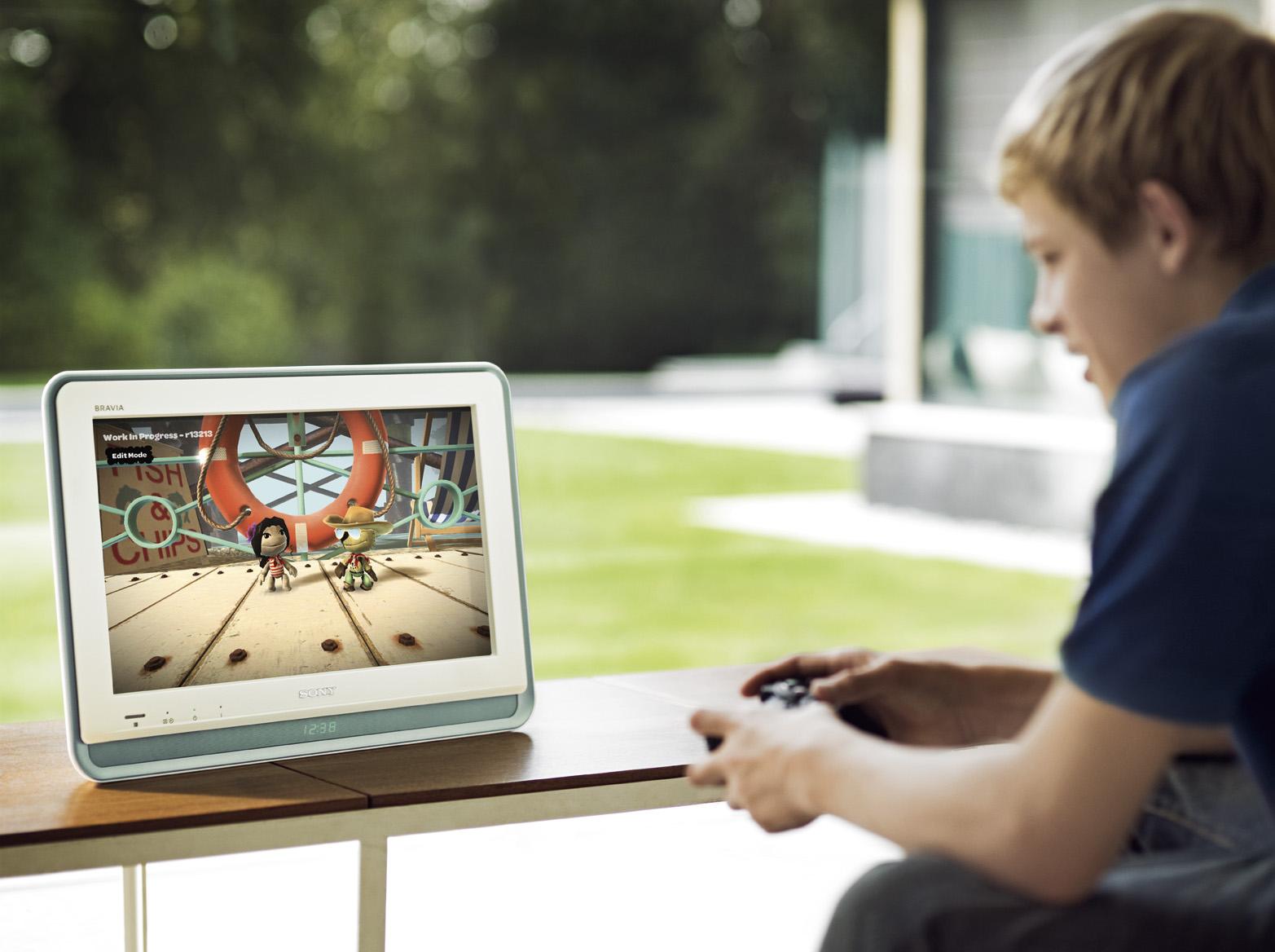Стилен и малък екран от Sony