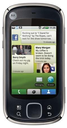 Motorola QUENCH - нов, Android базиран  телефон
