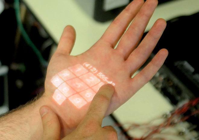 Човешката кожа се превръща в тъч екран