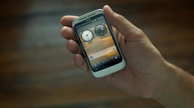 Неизвестен HTC се появи в рекламен клип