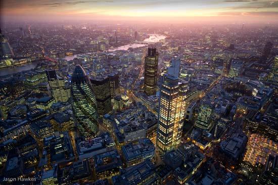 Великолепни фотографии от въздуха, направени с Nokia N8