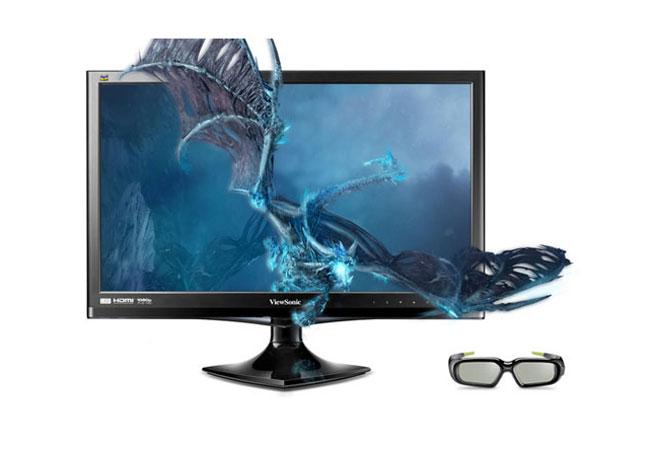 ViewSonic пуска 3D монитора V3D245 в продажба