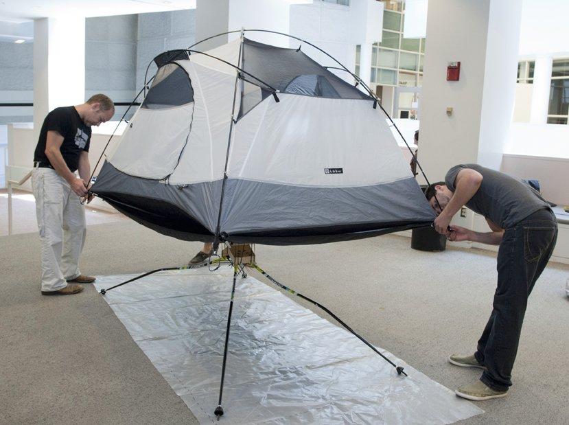 8f07c41ec69 Хайтек оборудване за високопланински преход с палатки