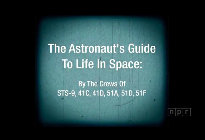 Невероятно забавно видео показва живота в Космоса