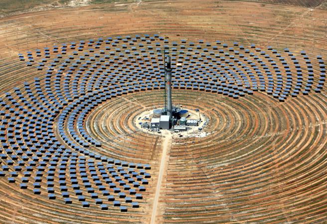 Слънчевата електростанция от нов тип Gemasolar заработи