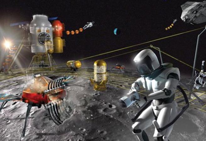 Космически миньори