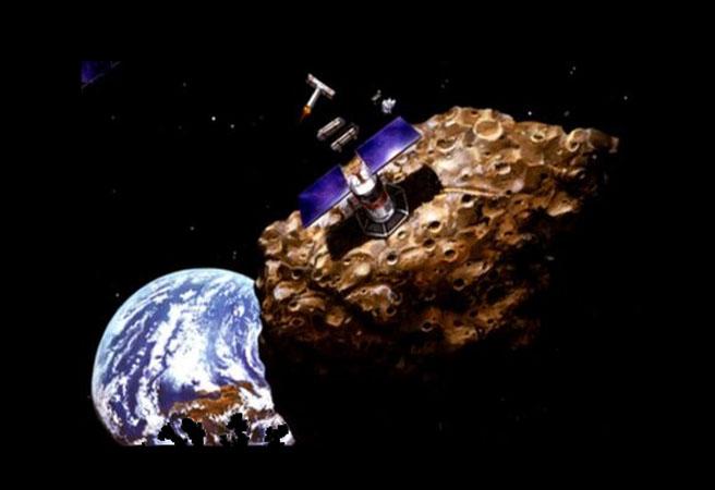 Първи добиви на изкопаеми от астероид през 2020 г.