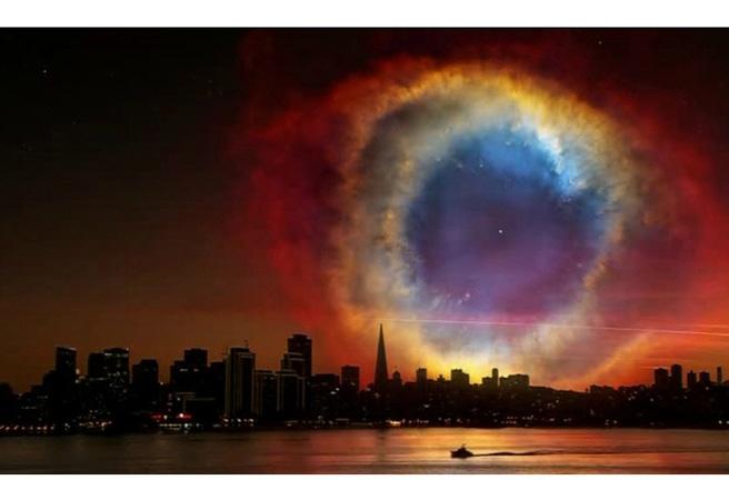Как щеше да изглежда небето, ако Земята бе на друго място?