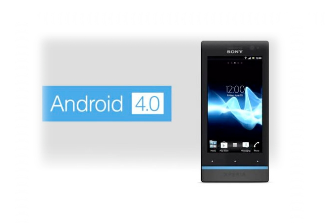 Android 4.0 Ice Cream Sandwich за Sony Xperia S
