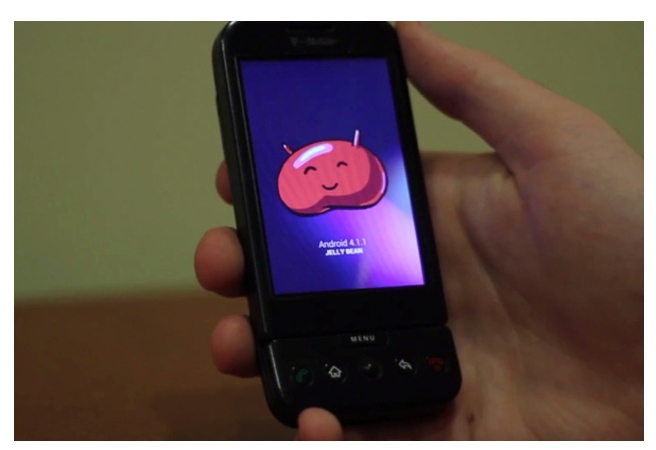 Jelly Bean за… HTC G1