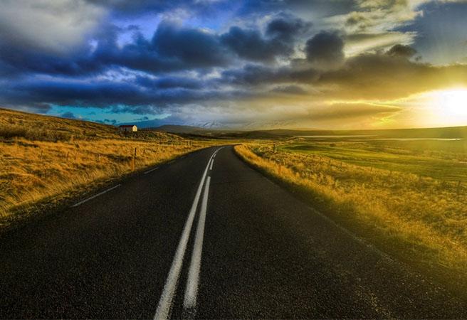 Футуристична умна магистрала