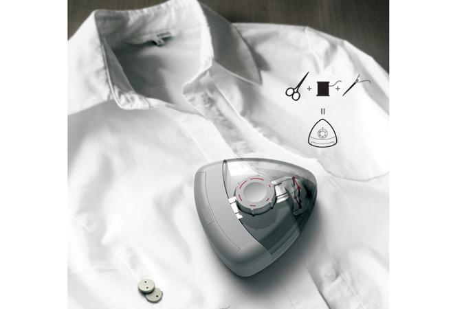 Button Stapler - да зашием копчето с финес