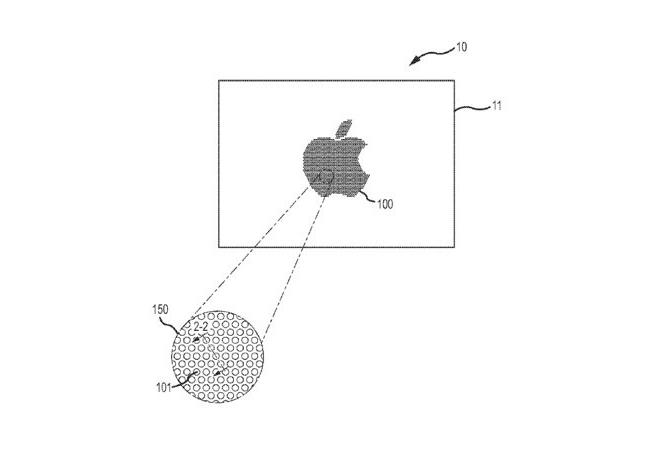 Apple патентова невидими сензорни контроли