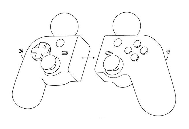 Sony с патент за гейм контролер, който се разделя на две части