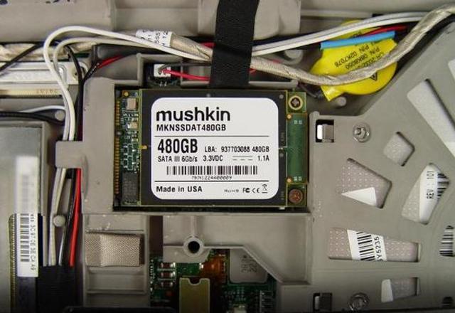 Първият в света mSATA SSD диск с обем 480 GB