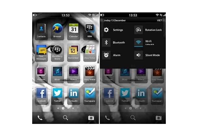 BlackBerry 10 е странна комбинация от iOS, Android и Windows Phone