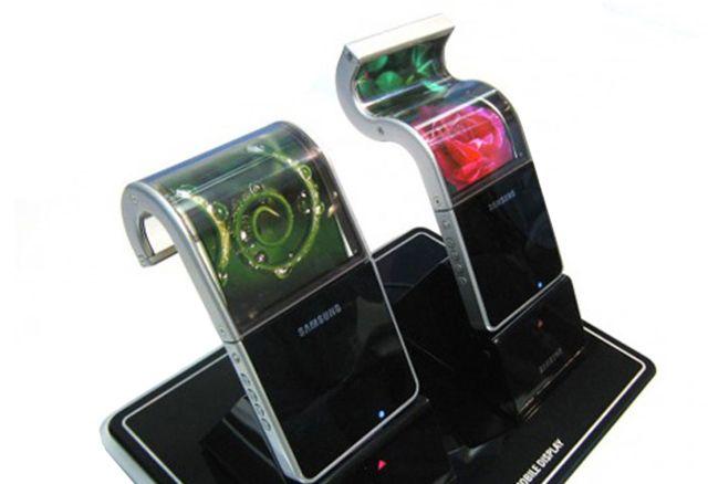 CES 2013: Нагледно за гъвкавите OLED дисплеи Samsung Youm