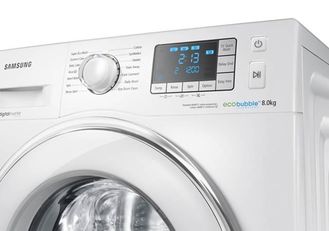 Samsung WF80F5E: Нова Eco Bubble перална за практичния дом
