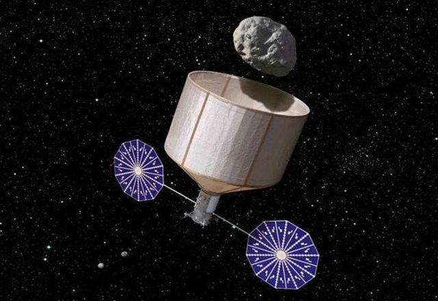 NASA ще придърпа астероид към Земята