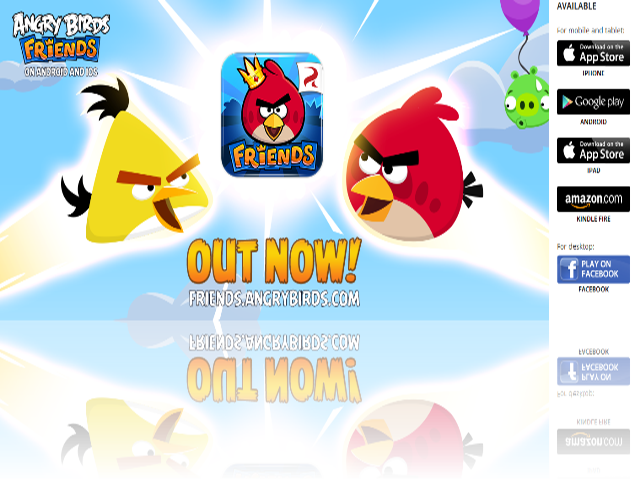 Angry Birds Friends за Android & iOS