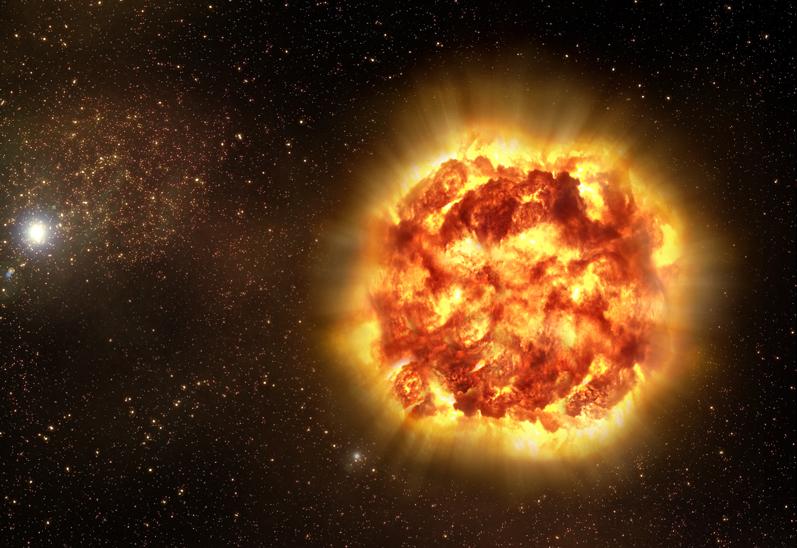 Засякоха най-голямото избухване на звезда до този момент