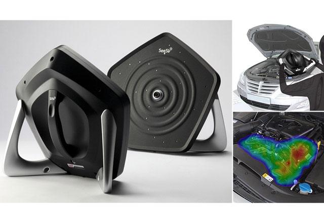 SeeSV-S205 – портативна звукова камера открива повредите във всеки механизъм
