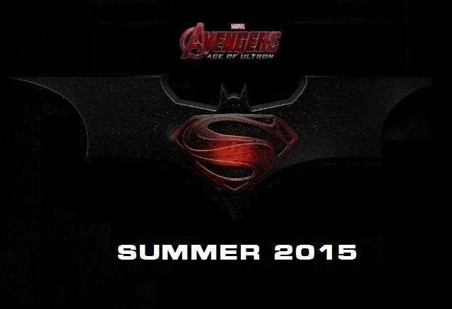 Очаквайте Avengers: Age of Ultron и Superman vs. Batman през лятото на 2015