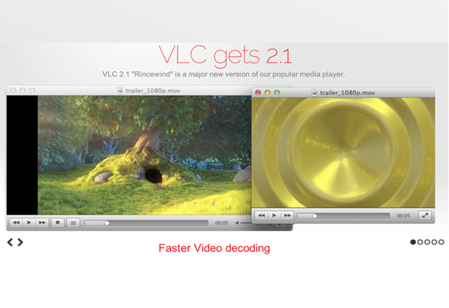 Сериозна актуализация за уеб версията на VLC Player