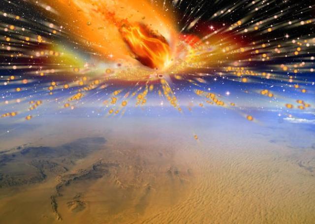 """Комета е предизвикала """"огнен дъжд"""" преди 28 млн. години"""