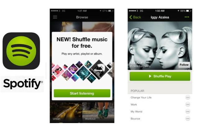 Spotify направи shuffle фунцкията достъпна в безплатното iOS приложение