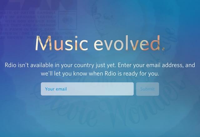 Неограничена безплатна музика в браузъра и от Rdio