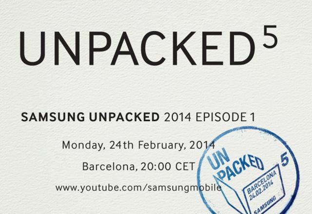 "Samsung ""Unpacked 5"" на 25 февруари. Представяне на Galaxy S5?"
