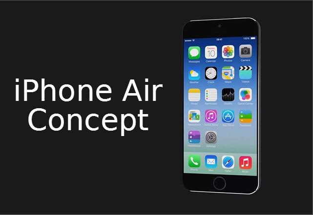 iPhone Air - най-реалистичния концепт на iPhone 6