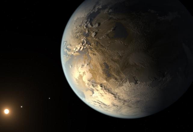 Първа потвърдена планета от земен тип. Намира се в