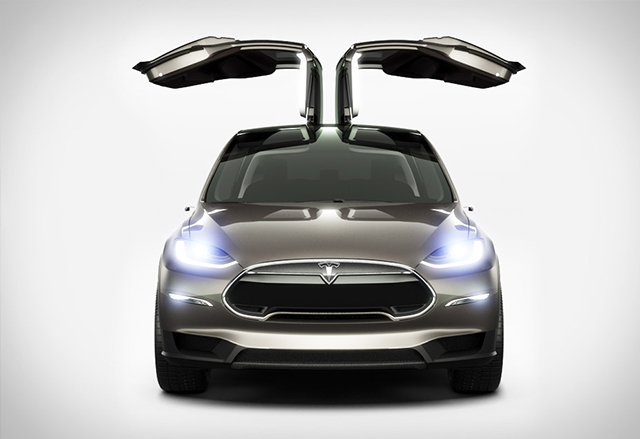 Tesla Model X ще влезе в производство от началото на 2015 година