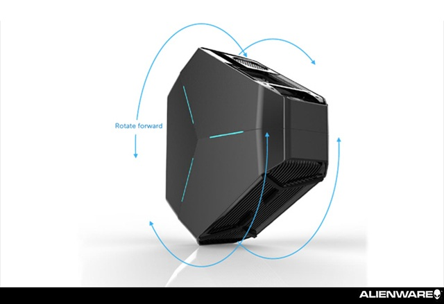 Ранен поглед над новата уникална PC система на AlienWare - Area 51