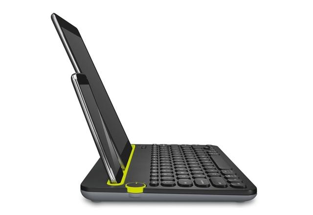 Logitech K480 е една клавиатура за компютър, смартфон и таблет