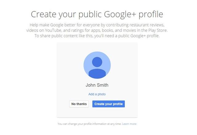 Google вече не изисква да създадете Google+ профил заедно с Gmail