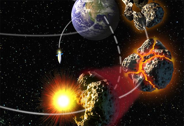 САЩ ще запази някои от ядрените си бойни глави, за да защитава Земята от астероиди