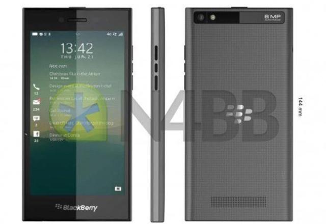 BlackBerry Rio Z20: снимки и хардуер