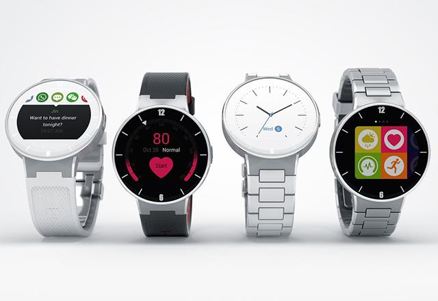 Alcatel показа своя първи умен часовник