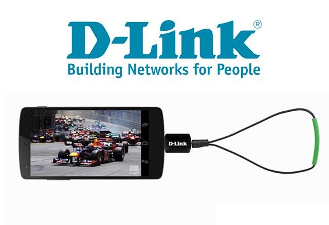 Гледайте цифрова телевизия в движение с новия мобилен Android тв тунер на D-Link