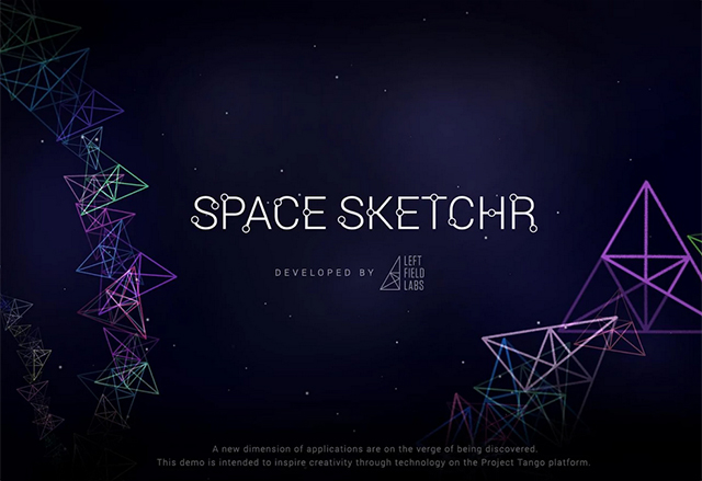 Space Sketchr тества 3D способностите на технологията от Project Tango