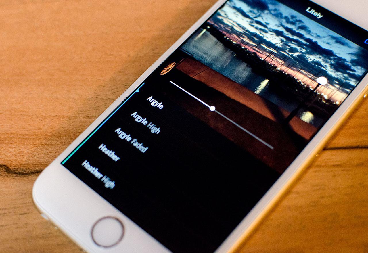 Photo Extensions Litely Iphone Hero