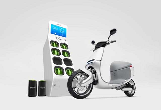 Електрически скутери със сменяеми батерии тръгват в Тайпе