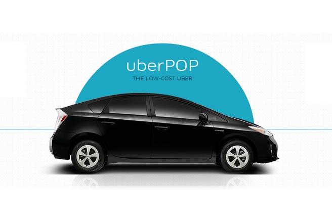 UberPop ще продължи да работи в Париж