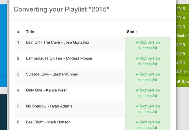 Вече можете да прехвърлите Spotify плейлистите си в Tidal