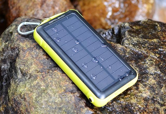 ZeroLemon е преносимо соларно зарядно