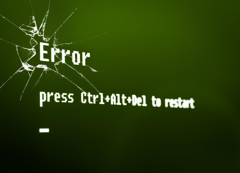 10 комично известни софтуерни грешки